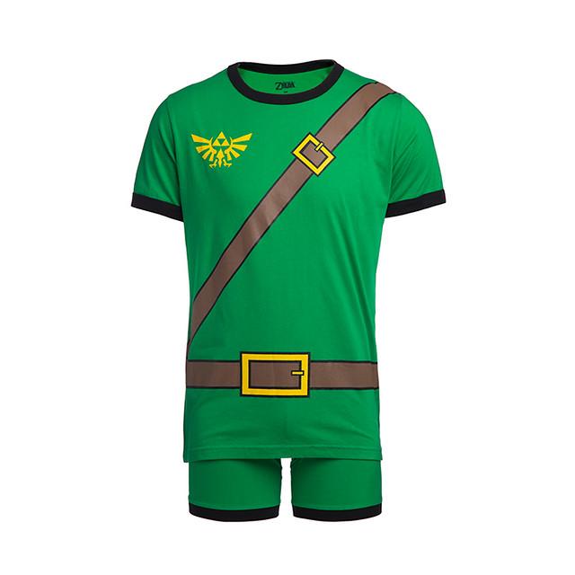 成為海拉魯的勇者(居家限定)!ThinkGeek《薩爾達傳說 曠野之息》林克「英傑之服 / 經典綠衣勇者」造型睡衣