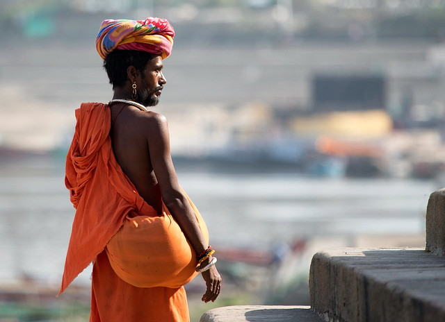 A Sadhu In Varanasi, India