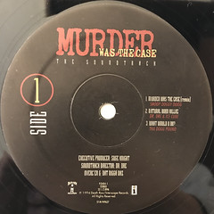 V.A.:MURDER WAS THE CASE(LABEL SIDE-A)