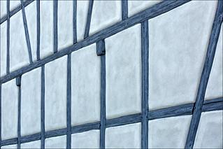 Leinach - blue wall