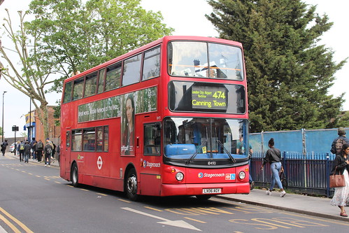 Stagecoach London 18493 on Route 474, Manor Park