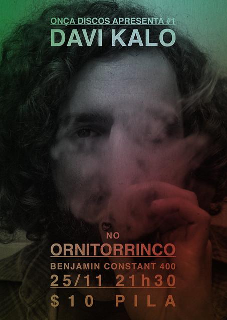 Onça Discos Apresenta #1 - Davi Kalo no Ornitorrinco