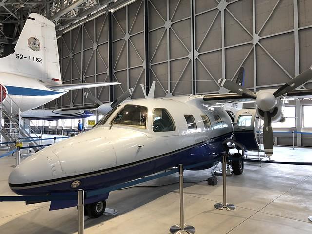 三菱 MU-2 JA8737 IMG_0448