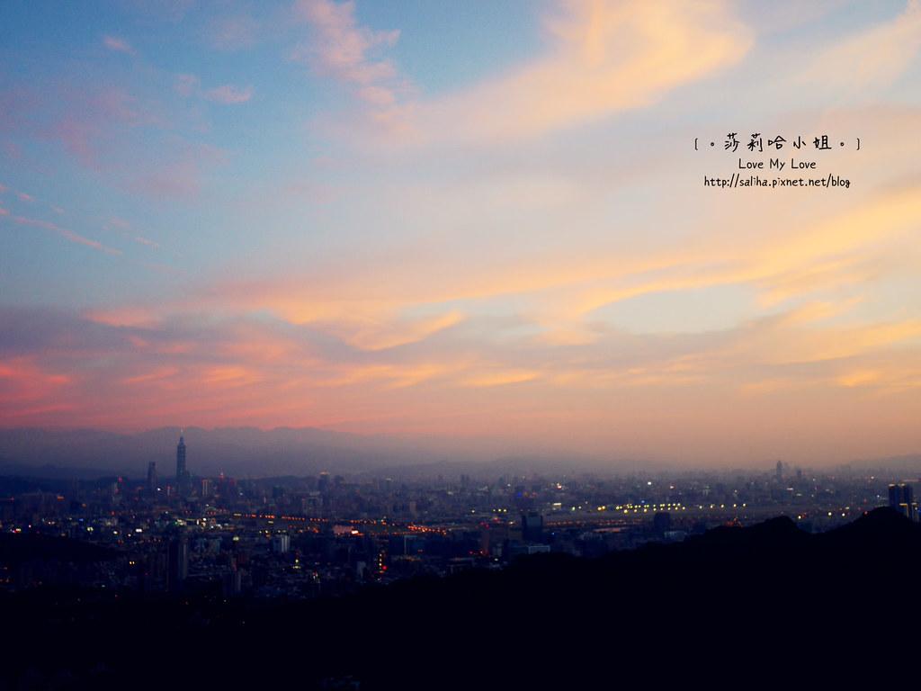 內湖碧山巖夜景 (2)