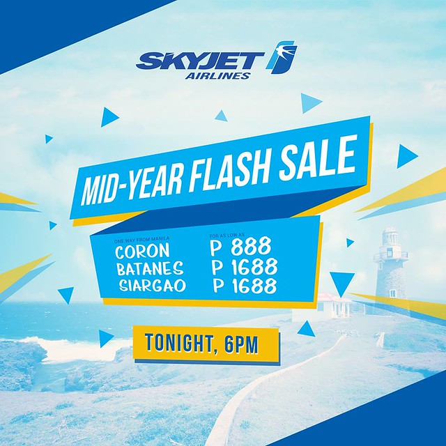 SkyJet Airlines Mid-Year Flash Sale