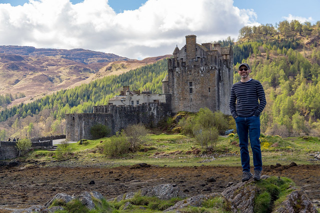 Eric @ Eilean Donan Castle
