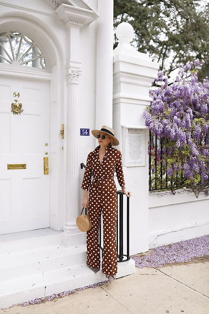 polka dot outfits for this summer trend 2018 style fashion tendencias6