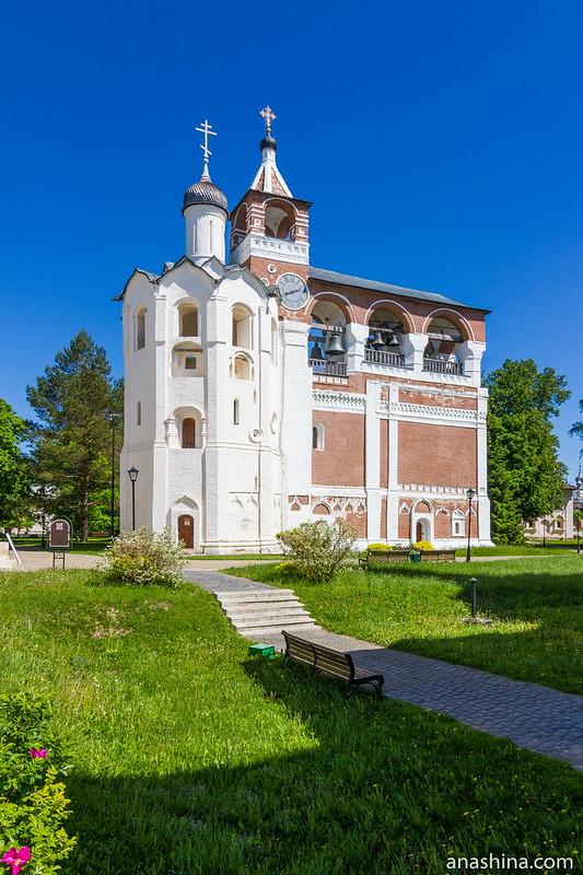 Звонница, Спасо-Евфимиев монастырь, Суздаль