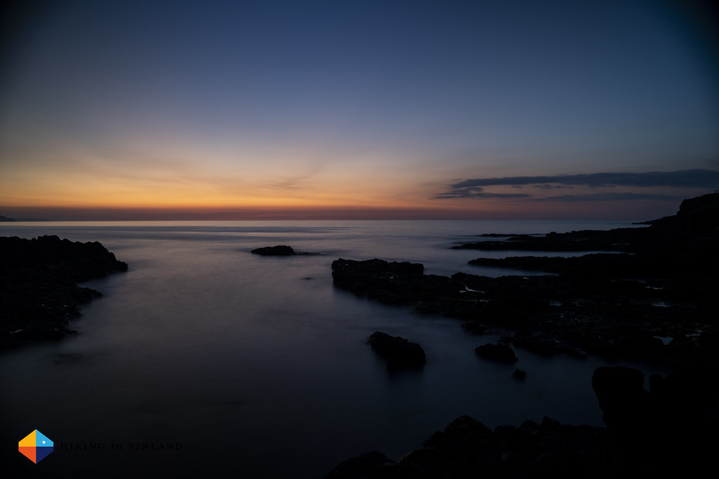 Long Exposure along the Causeway Coast Way in Portstewart