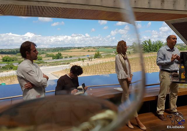 Bodegas Portia o como maridar un buen vino con la alta cocina (5)
