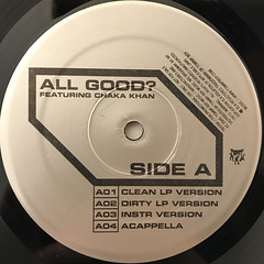 DE LA SOUL:ALL GOOD?(LABEL SIDE-A)
