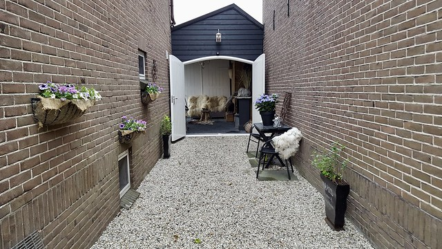 Garage poort carport grind