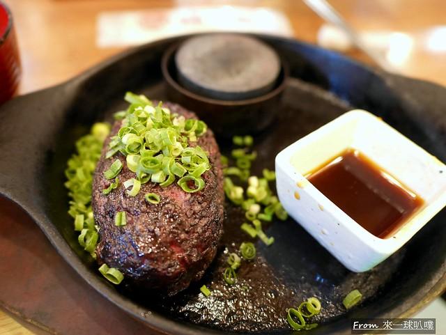 極味屋鐵板牛肉漢堡排  極味や 博多店11
