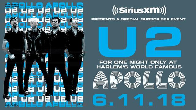 U2 Apollo promo