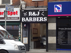 Picture of R And J Barbers, 74a High Street