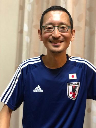 父の日のプレゼントはサッカー日本代表のユニフォーム