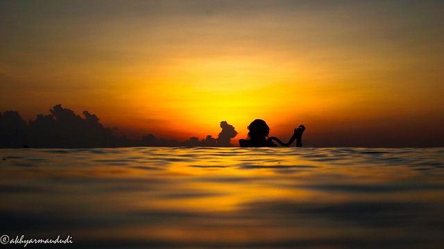 Only the lucky one got sunrise dive