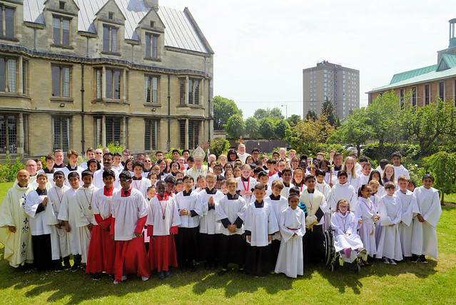 Altar Servers Mass, St John's Cathedral, Norwich, May 2018