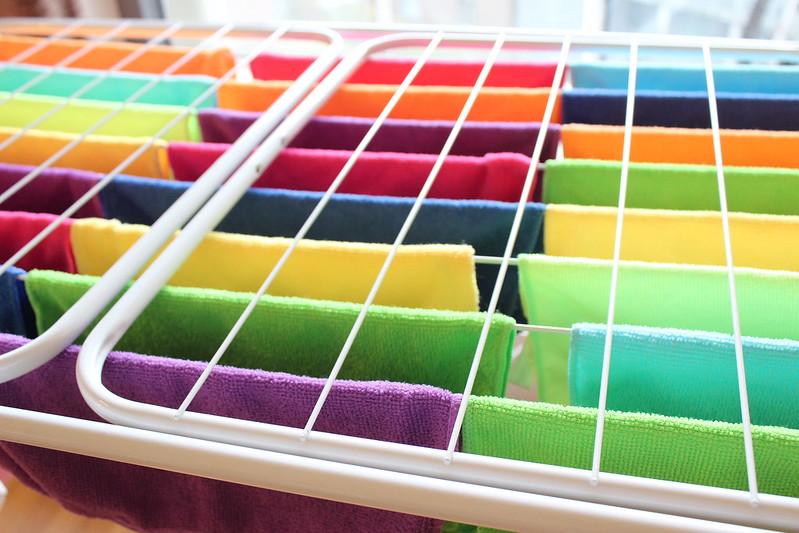 Rainbow rags