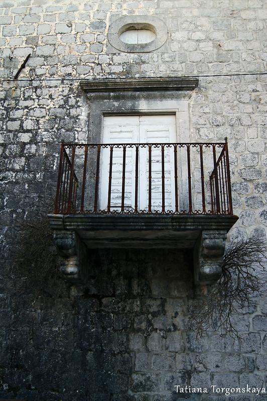 Балкон прчаньского дома