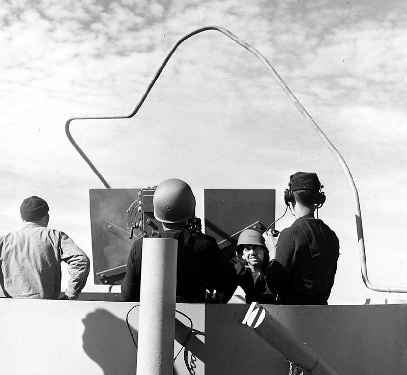 USS Edsall (DE-129) - Bermudes - 1943 - Dmitri Kessel - LIFE