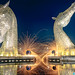 Steel Wool Photography at the Kelpies by AllanJohnston