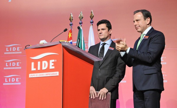 O obscuro futuro do povo brasileiro e de sua quase democracia, Moro e Doria nos EUA