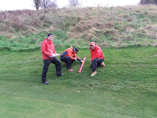 Risk assessment of slopes in Hockley Golf Club, Winchester
