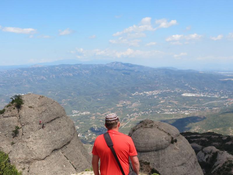 Escaladores en montañas de MontserratMiranda de Sant AntoniIMG_2664