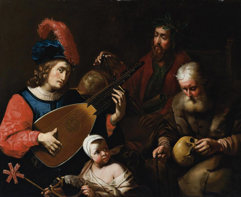 Attributed to Gysbert van der Kuyl - The four ages of man