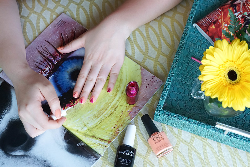Step-by-Step Long Wear Tropical Manicure with CND™ VINYLUX™