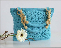 what  lovely purse model, I loved this very charming 🙋‍♀💙 and delicate pattern crochet pattern