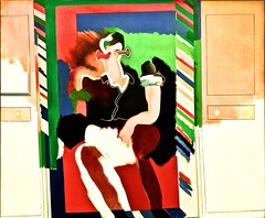 Man reflected (1963) - Allen Jones (1937)