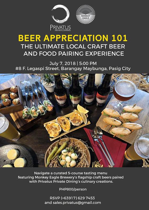 Beer Appreciation 101 Official Event Invitation