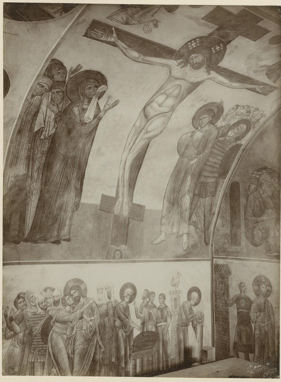 «Фрески страстного цикла» Спасо-Преображенского собора Мирожского монастыря