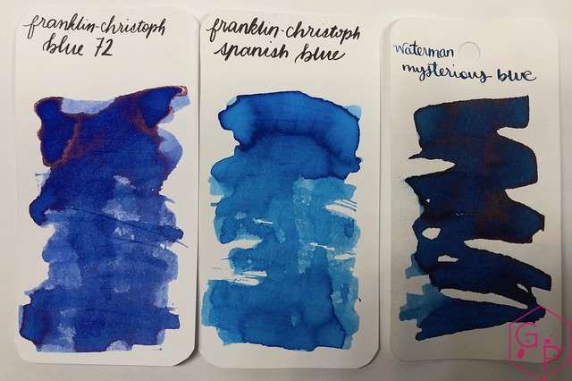 Franklin-Christoph Blue 72 Ink Review @1901FC 3