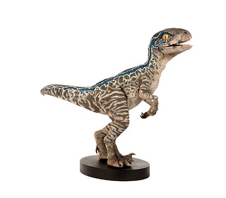 """You Know Me."" Chronicle Collectibles Jurassic World: Fallen Kingdom 1:1 Baby Blue Statue"