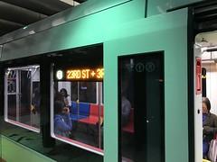 New Muni Metro train in service