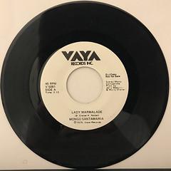 MONGO SANTAMARIA:LADY MARMALADE(RECORD SIDE-A)
