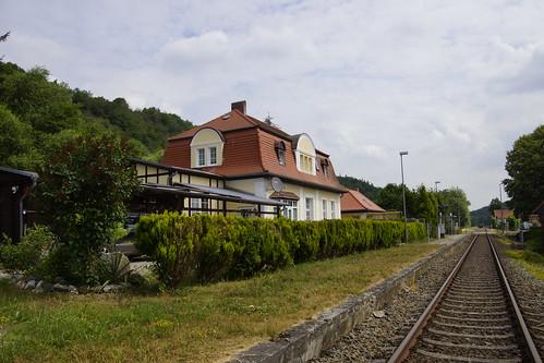 Bahnhof Friesdorf (Mansfeld) Sachsen-Anhalt 16-06-2018