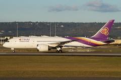 HS-TQD Thai Airways Boeing B787-8 Dreamliner