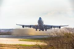 Cargolux LX-WCV Boeing 747-4R7F - PNZ SBPL
