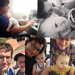 """Happy Father's Day @bartle_man - Archer is the luckiest kid in the world to have you as his dad! I'm so happy to have you as my partner in this parenting journey. I couldn't ask for anyone better than you. ❤️ ....and of course """"hap fath's days?"""" fro"""
