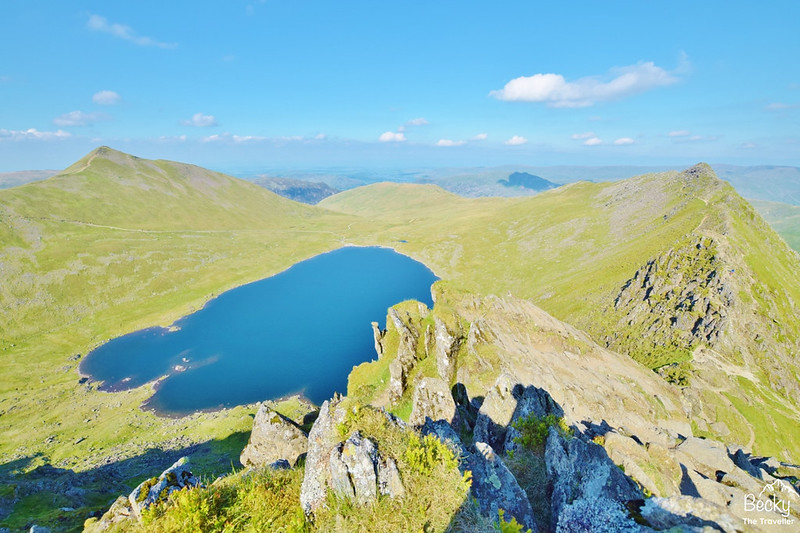 Helvellyn back via Striding Edge - Lake District