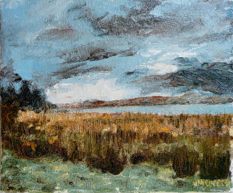 Beauly Firth. Artist Jan Clizer
