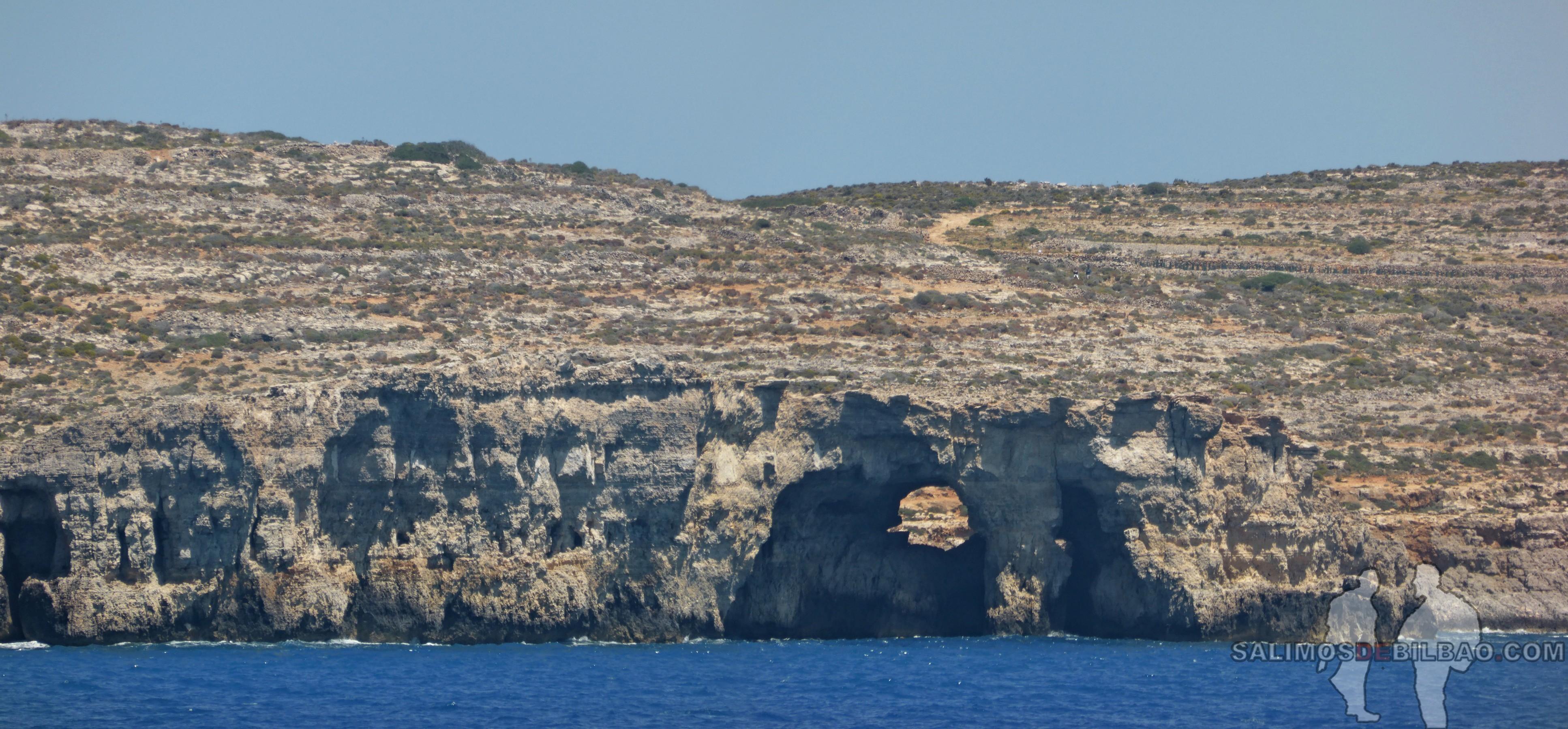 0614. Pano, Isla de Comino, Ferry de Gozo a Malta