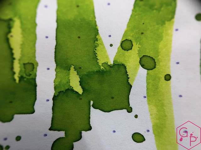 @RobertOsterInk Lime Juice Ink Review @MilligramStore 17