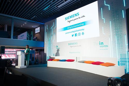 Rosa García da la bienvenida a Digitalization Day