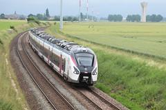 Rame Alstom Coradia Liner passant à Grandpuits - Photo of La Croix-en-Brie