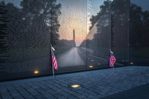 Memorial Day, Vietnam Veterans Memorial, Washington DC